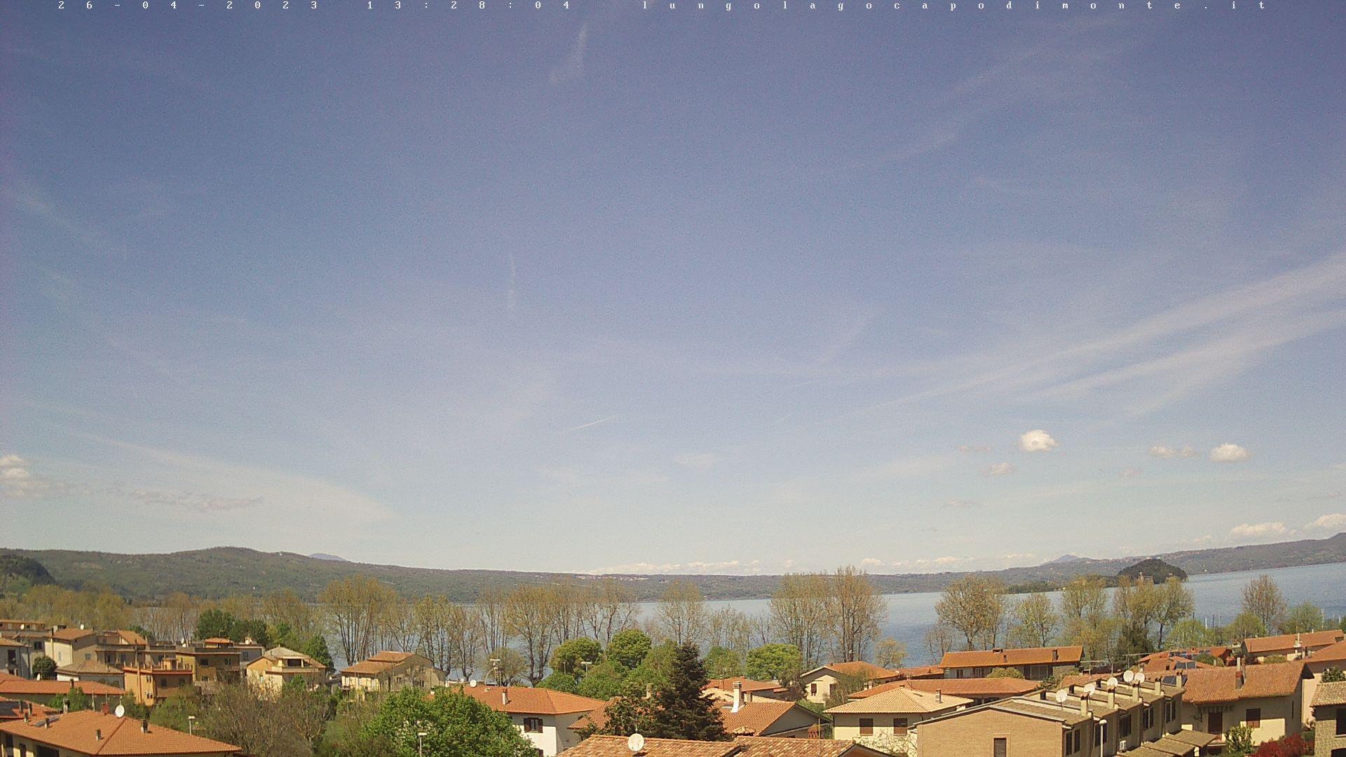 Webcam Live di Capodimonte (VT)